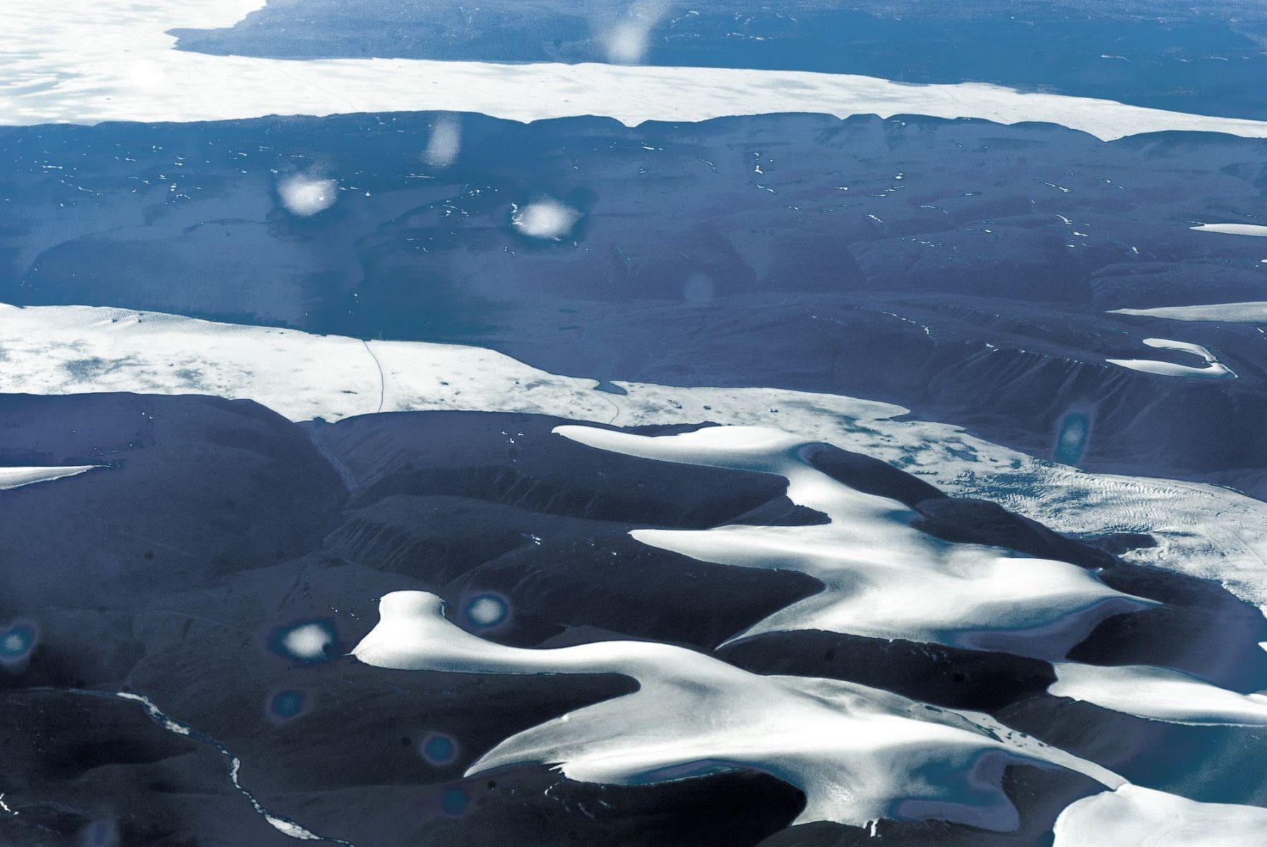 MichelAycaguer-Alaska bleu gris vert-2010-13