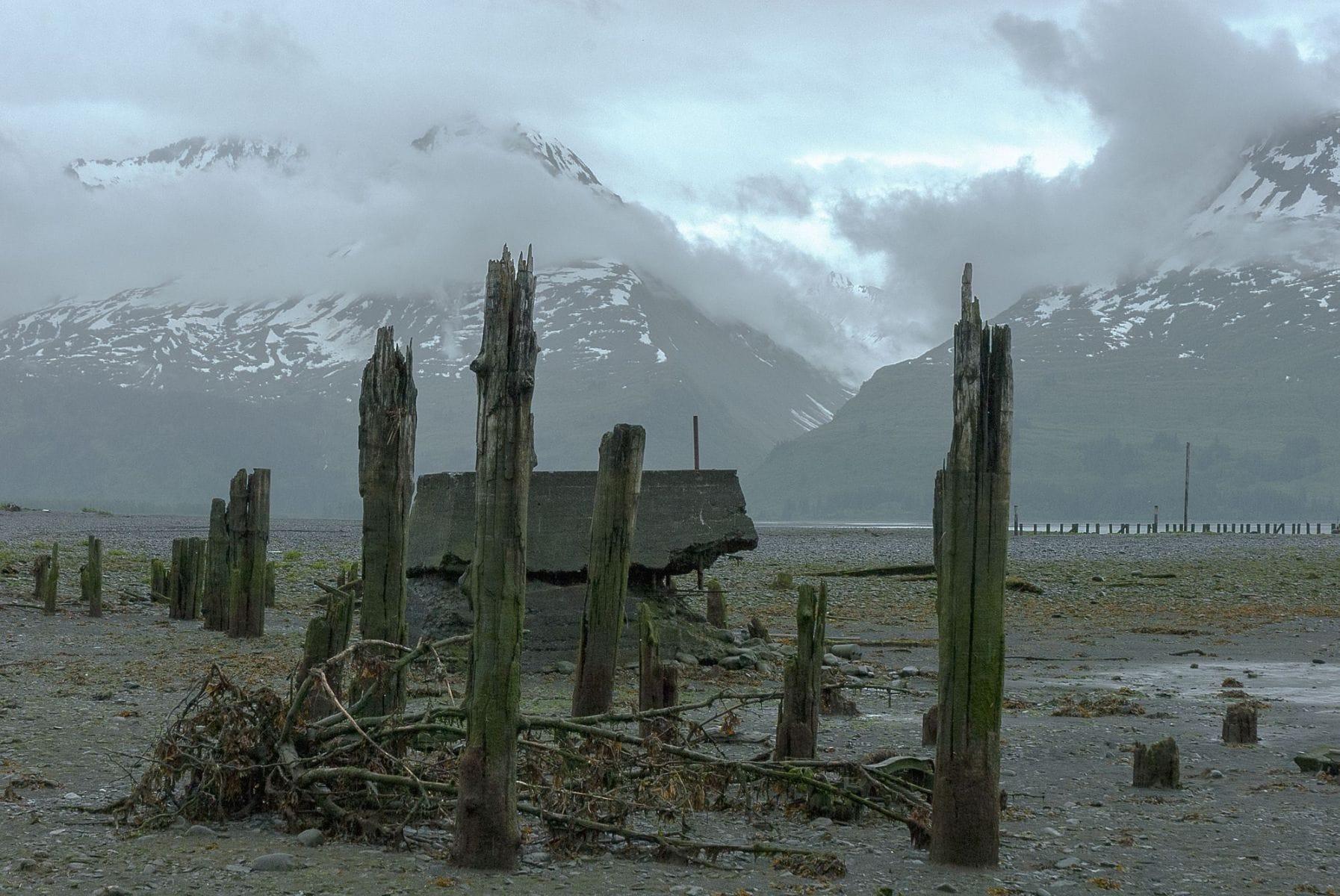 MichelAycaguer-Alaska bleu gris vert-2010-23