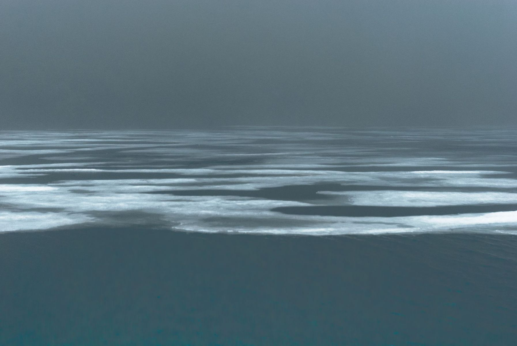 MichelAycaguer-Alaska bleu gris vert-2010-4
