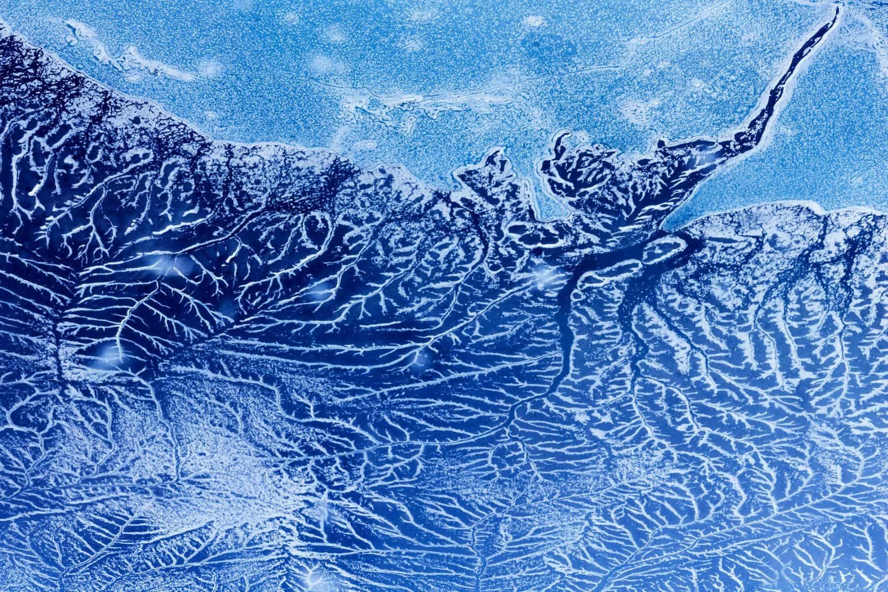 MichelAycaguer-Alaska bleu gris vert-2010-41