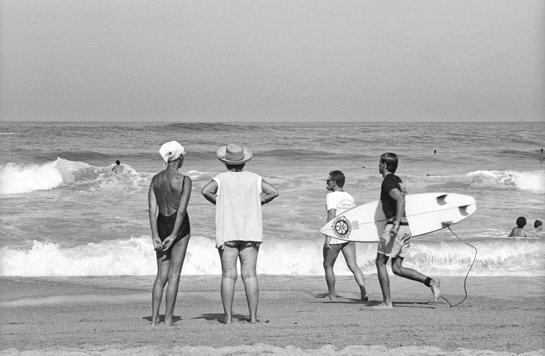 MichelAycaguer-Biarritz-GrandePlage-1988-PointFixe-Leica-18