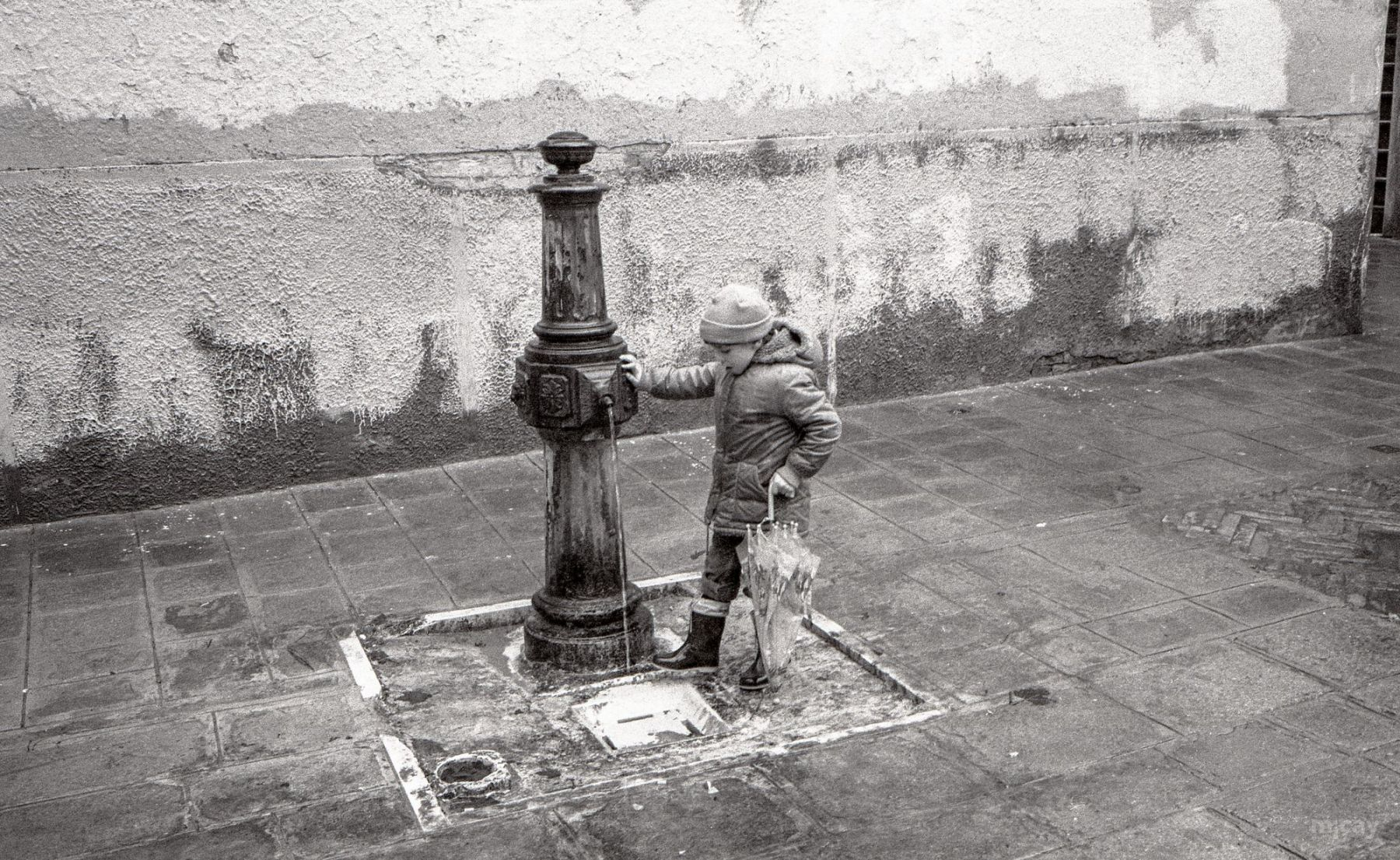 MichelAycaguer-Venise-AquaAlta-Noel-1981-20