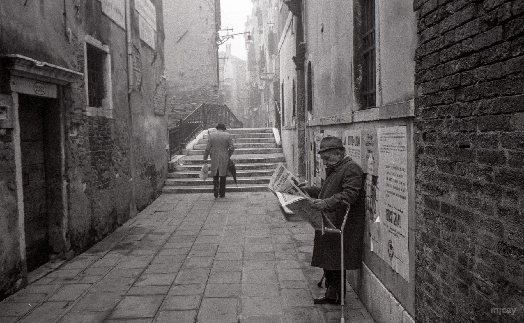 MichelAycaguer-Venise-AquaAlta-Noel-1981-7